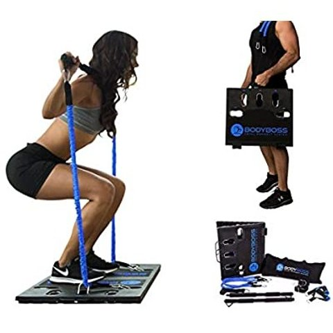 Today Only: BodyBoss Home Gym 2.0 with Extra Bands