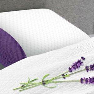 $24.65(原价$70)舒适记忆泡沫枕 薰衣草香伴你好睡眠 放松心情 失眠必备