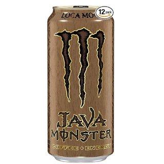白菜价$16.99 一罐只需$1.42Java Monster 咖啡能量饮料 15oz 12罐