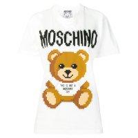 Moschino 像素熊T恤