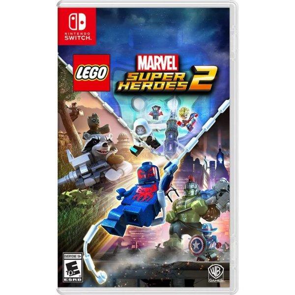 LEGO 漫威超级英雄 Switch 实体版