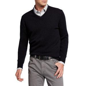 男士羊绒针织衫