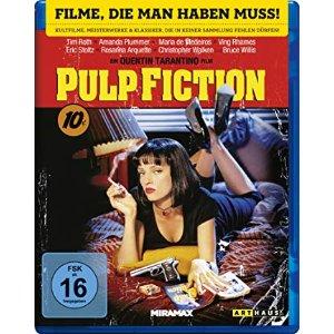 昆汀的非线性荒诞暴力幽默玩法低俗小说 Pulp Fiction 电影只要4.99欧 可以看无数遍的电影 众星云集