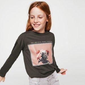 低至5折MANGO Kids 精选儿童潮服促销 凹造型必备 性价比之选