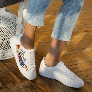 低至5折+最高立减$40+免邮最后一天:Skechers PUMA等 折扣区精选女士鞋履 好看舒适