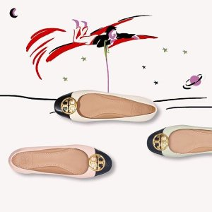 低至6折+最高7.5折+免税 名媛风Tory Burch 包包、鞋子等网络星期一热卖 收明星同款Kira