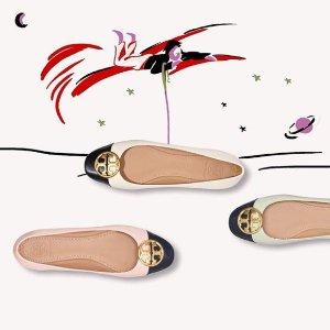低至6折+额外最高6折+免税 名媛风Tory Burch 包包、鞋子等热卖 收明星同款Kira