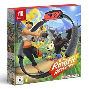 79.99€+免邮宅家健身神器 Nintendo 任天堂 Switch 健身环大冒险  游戏支持中文