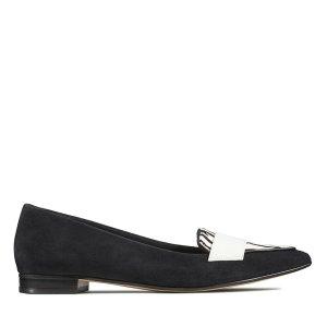 Clarks黑色斑马纹 单鞋