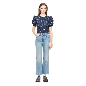 Rebecca Taylorget 15% with $350 purchaseFrancine Floral Poplin Top