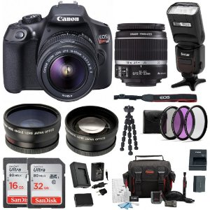 Starting at $399Canon EOS Rebel T6/T7i DSLR Camera Bundle