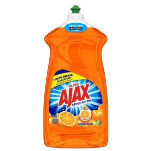 Ajax Triple Action 橘子味 餐具洗洁精 52 fl. oz.