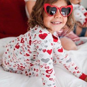 $10.47起最后一天:Burt's Bees Baby 情人节系列儿童有机棉睡衣特卖