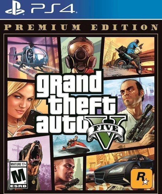 GTA V PS4 实体版