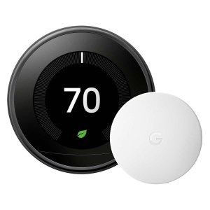 Google Nest Learning Thermostat with Nest Temperature Sensor