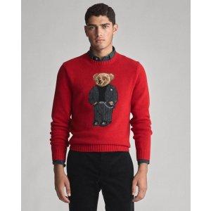 Ralph LaurenSuit Bear Wool Sweater