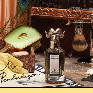 £204收+送新年3件套+4小样新品上市:Penhaligon's潘海利根 William创始人同名兽首香水