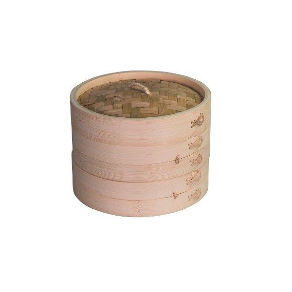 2层竹制蒸锅 20cm
