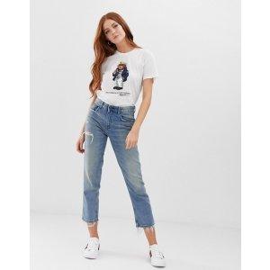 ASOS最高立减$70Polo Ralph Lauren sailor teddy t-shirt   ASOS