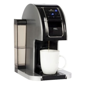 $49.99Touch 1-Cup Coffee Maker Black/Silver
