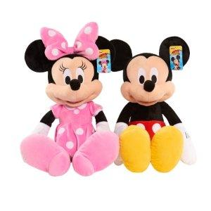 14 99 Disney Minnie Mouse Large Plush Dealmoon