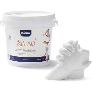 折后€25 材质安全无毒Niimo 3D手模制作套装 石膏雕塑 定格记忆 创意小礼物