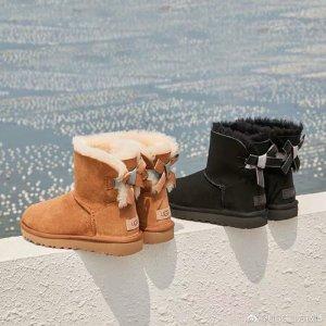 低至3折 何穗同款直降$210UGG 折扣区休闲美鞋促销 反季囤超划算 雪地靴$50+