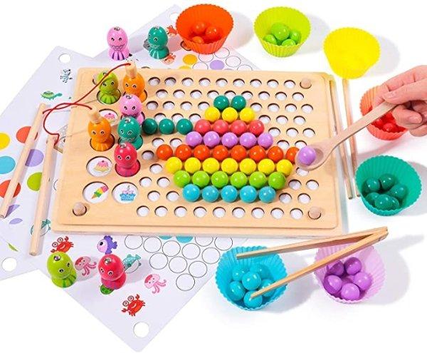 磁力钓鱼玩具