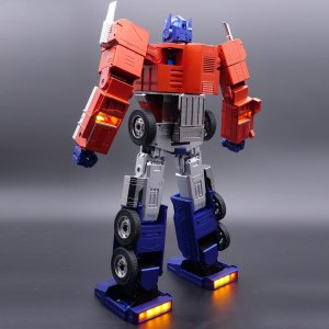 $699Transformers Optimus Prime Auto-Converting Programmable Advanced Robot - Collector's Edition
