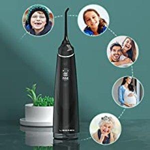 折后€25.99 多色可选Liberex 全新便携水牙线热促 OLED显示屏 自带计时器