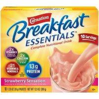 Carnation Breakfast Essentials 草莓营养奶粉 1.26oz. 10包