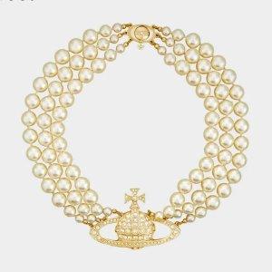 爆款三层项链罕见有货!收虞书欣同款补货:Vivienne Westwood官网 珍珠系列 再次补货 超难买!