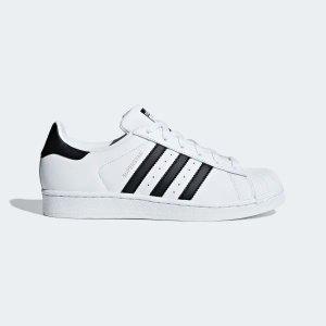 Adidas低至5折+额外67折Superstar经典配色