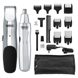 $22.76Wahl Model 5622Groomsman Rechargeable Beard, Mustache, Hair & Nose Hair Trimmer for Detailing & Grooming