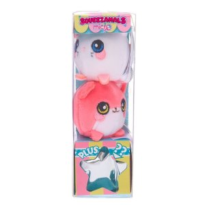 B1G1Squeezamals™ Micro Plush Toys - 3 Pack, Styles May Vary