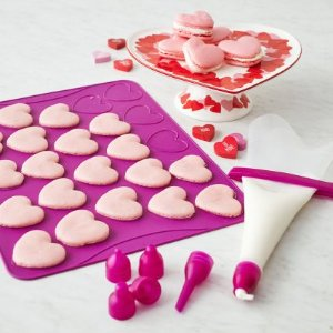 Today Only: $14Heart-Shaped Macaron Kit