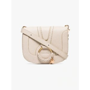 See by ChloeBeige leather hoop shoulder bag