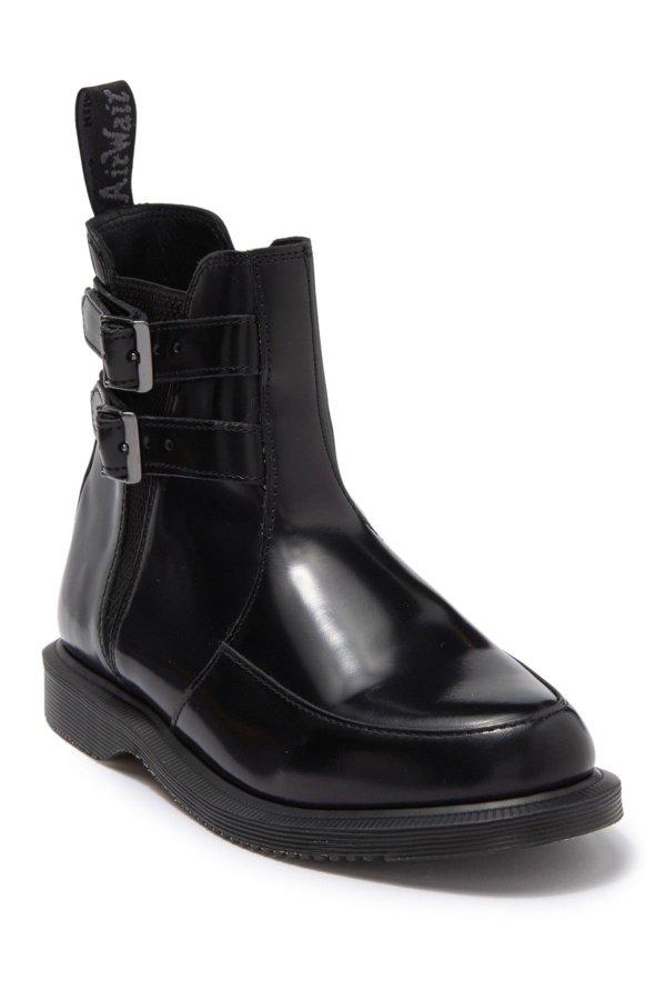 Flora II Buckled 踝靴