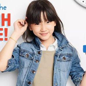 包邮+Polo衫、T恤现$4,睡衣套装$9.6即将截止:OshKosh BGosh 童装全站一律4-5折+满$40享额外8折
