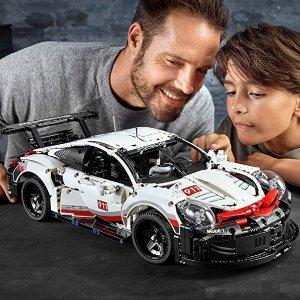 LEGO Technic Porsche 911 RSR 42096 Race Car Building Set STEM Toy