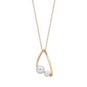 买2件享9折18K金珍珠项链