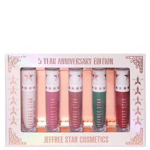 Jeffree Star Cosmetics唇釉5件套