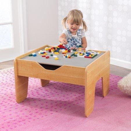 兼容乐高游戏桌,含积木195颗,自然木色
