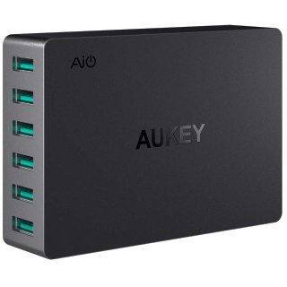 Aukey 60W 6-Port USB Charging Station