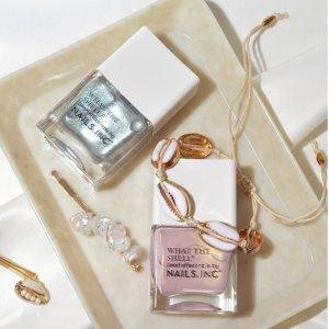 低至4折,晒单得£180指甲油套装Nails Inc 收颜值与性价比并存的指甲油,满赠粉粉指甲油+手膜