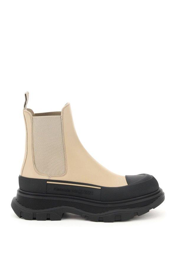 新色厚底靴
