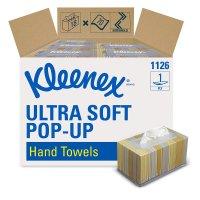Kleenex Hand Towels 面巾擦手纸70片X18盒装