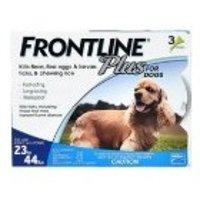 Frontline Plus 中型犬狗狗体外驱虫药 3剂