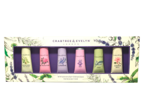 Crabtree & Evelyn 6-piece Mini Hand Lotion Gift Set 0.9 oz., 6-count