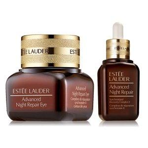 Estee Lauder小棕瓶眼霜精华套装